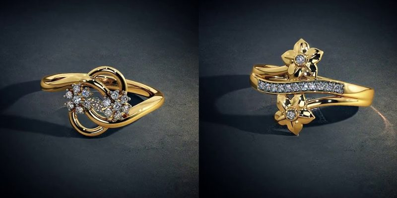 blue stone diamond jewellery